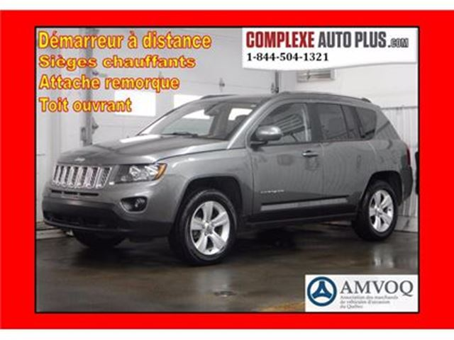 2014 Jeep Compass North 4x4 AWD *Cuir, Toit ouvrant in Saint-Jerome, Quebec