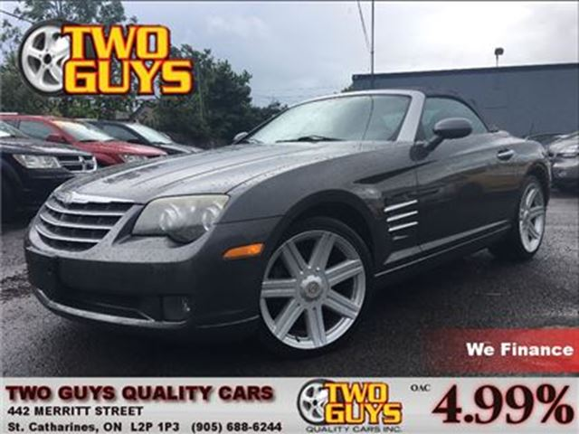 2005 Chrysler Crossfire Limited NICE LOCAL TRADE IN LOW KMS!! in St Catharines, Ontario