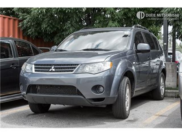 2007 MITSUBISHI OUTLANDER LS   FWD   SUNROOF   ALLOYS   LOW MILEAGE in Mississauga, Ontario