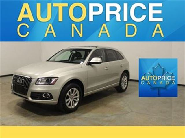 2013 AUDI Q5 NAVIGATION PANOROOF LEATHER in Mississauga, Ontario