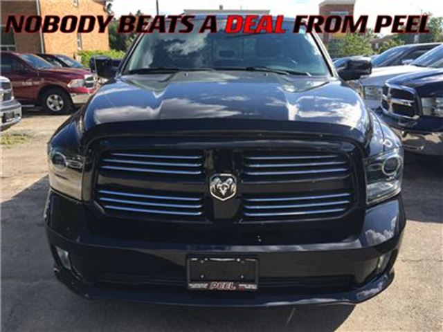 2014 Dodge RAM 1500 Sport**LOW KMS**CAR PROOF CLEAN** in Mississauga, Ontario