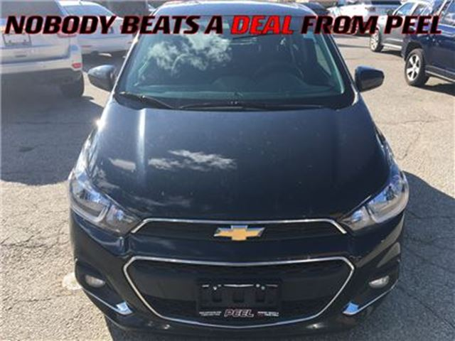 2016 CHEVROLET SPARK 1LT Manual**BACK-UP CAM**XM RADIO** in Mississauga, Ontario