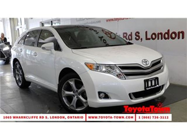 2016 Toyota Venza V6 AWD XLE REDWOOD EDITION LEATHER & NAVIGATION in London, Ontario
