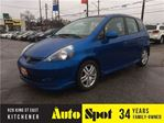 2007 Honda Fit Sport/LOW, LOW KMS!/PRICED FOR A QUICK SALE! in Kitchener, Ontario