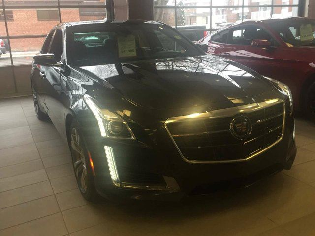 2014 Cadillac CTS V-SPORT RARE LOADED TWIN TURBO FINANCE AVAILABLE in Edmonton, Alberta