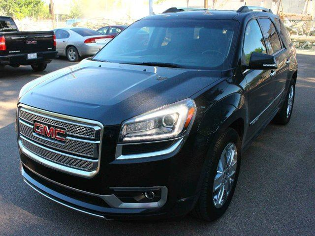 2013 GMC Acadia Denali LOADED SUPER LOW KM FINANCE AVAILABLE in Edmonton, Alberta