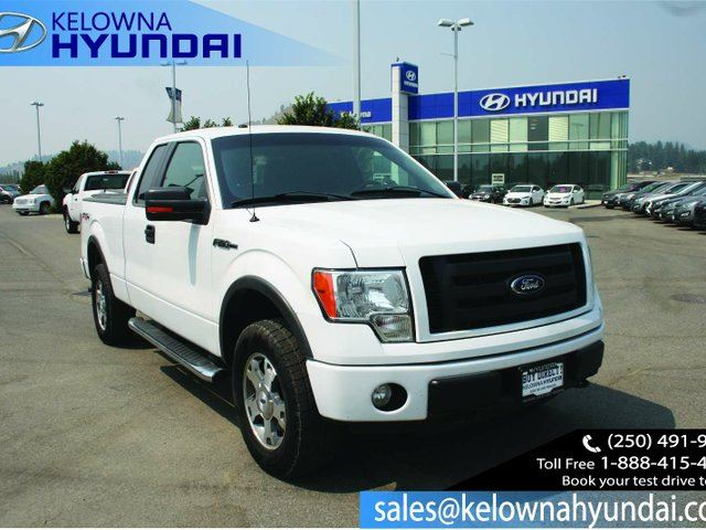 2010 FORD F-150 FX4 4x4 Super Cab 6.5 ft. box 145 in. WB in Kelowna, British Columbia