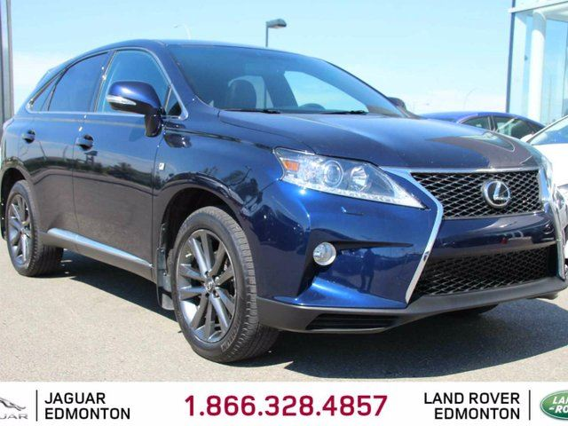 2014 LEXUS RX 350 F Sport - Local One Owner Trade In | Heated/Cooled Front Seats | Dual Zone Climate Control with AC | Power Liftgate | 19 Inch Wheels | Naviagtion | Back Up Camera | Bluetooth | Well Looked After | Power Sunroof | All Power Options | F Sport Trim in Edmonton, Alberta