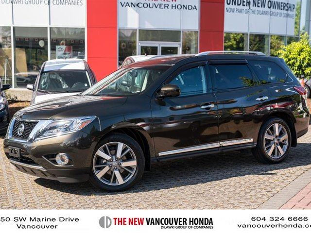 2016 Nissan Pathfinder Platinum V6 4x4 at in Vancouver, British Columbia