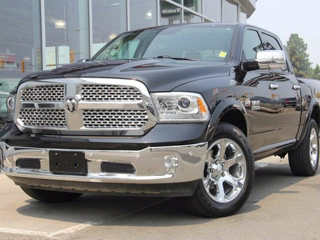 2016 DODGE RAM 1500 Laramie 4x4 Crew Cab 5.6 ft. box 140 in. WB in Kamloops, British Columbia
