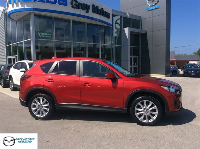 2015 Mazda CX-5 GT, Power Sunroof, Navi, Heated Leather, mint! in Owen Sound, Ontario