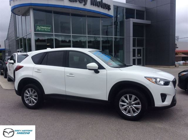2015 Mazda CX-5 GS, AWD, Power Sunroof, Heated seats, One owner in Owen Sound, Ontario