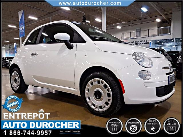 2012 Fiat 500 POP - GROUPE n++LECTRIQUE in Laval, Quebec
