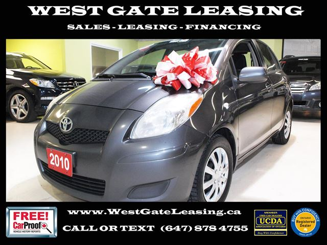 2010 Toyota Yaris  ALL POWER  A/C  in Vaughan, Ontario