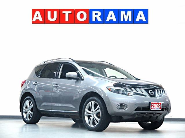 2009 Nissan Murano LE NAVI BACKUP CAM LEATHER PAN SUNROOF 4WD in North York, Ontario