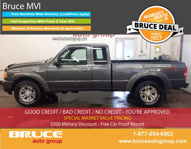 2009 Ford Ranger SPORT 4.0L 6 CYL AUTOMATIC 4X4 SUPERCAB in Middleton, Nova Scotia