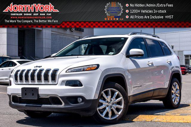 2017 JEEP CHEROKEE Limited in Thornhill, Ontario