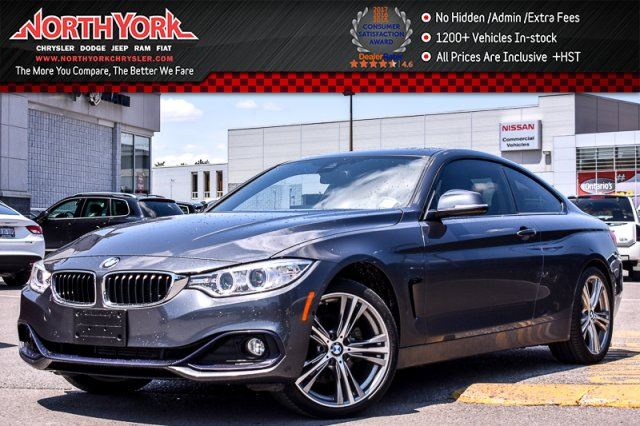 2014 BMW 428i xDrive Premium,Driver Assist.,Cold Wthr Pkgs HeadsUp Sunroof 19Alloys in Thornhill, Ontario