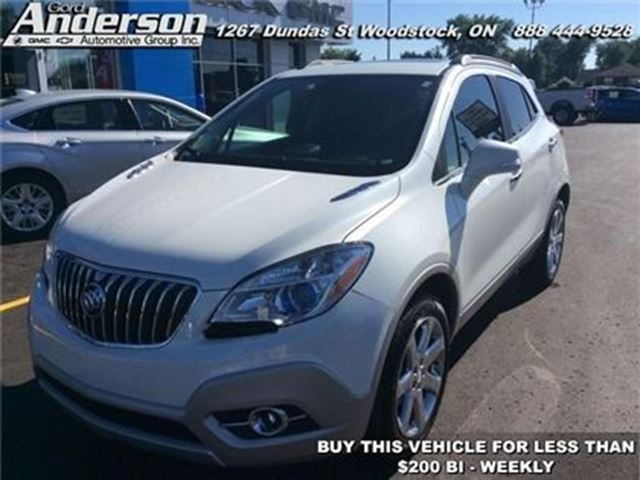 2016 BUICK ENCORE Leather - Leather Seat -  Heated Seat in Woodstock, Ontario