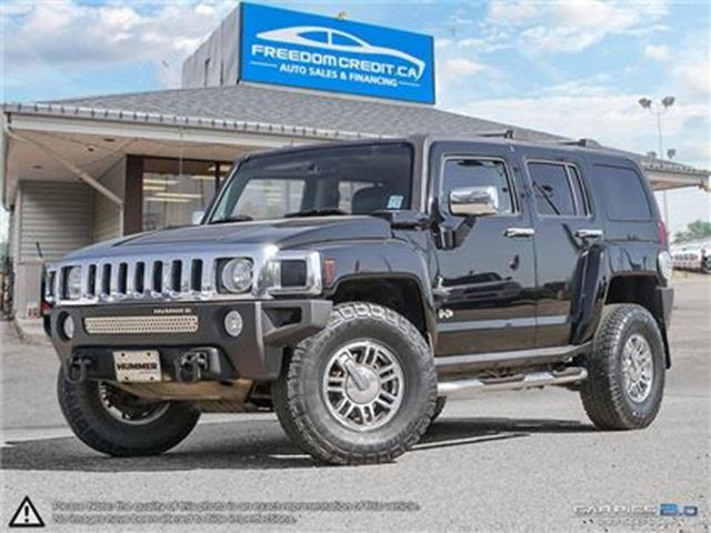 2006 HUMMER H3 Base LOADED LEATHER SUN ROOF in Edmonton, Alberta