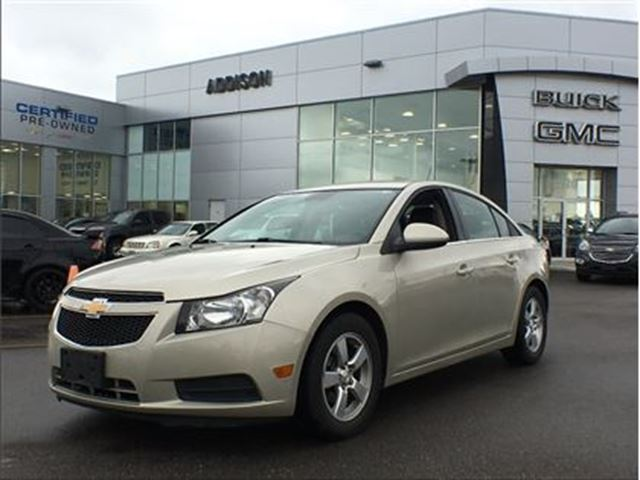 2014 Chevrolet Cruze 2LT One owner, accident free in Mississauga, Ontario