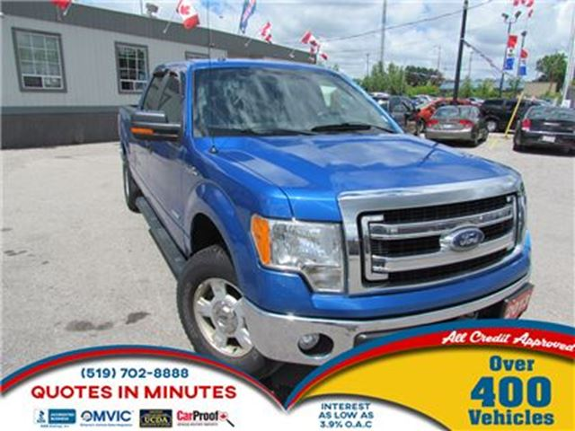 2013 FORD F-150 XLT   4X4   ECOBOOST   ALLOY WHEELS in London, Ontario