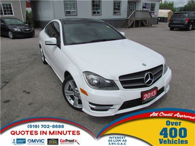 2013 Mercedes-Benz C-Class C 250   PANORAMIC ROOF   LEATHER   NAV in London, Ontario