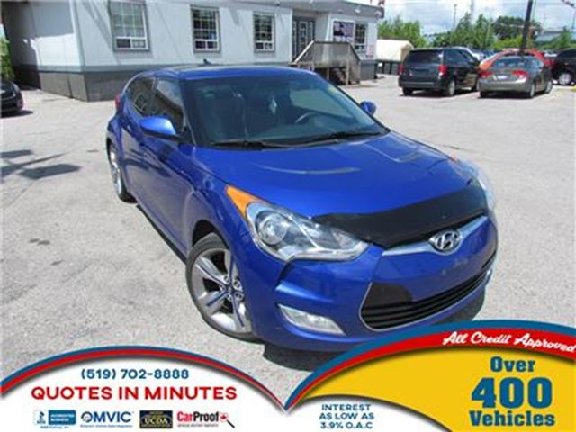2013 Hyundai Veloster TECH   NAV   LEATHER   SUNROOF   BACKUP CAM in London, Ontario