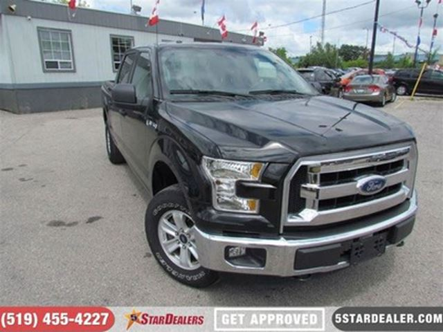 2015 FORD F-150 XLT   4X4   6PASS   BLUETOOTH in London, Ontario