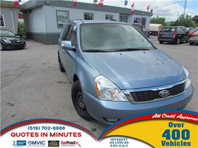 2011 KIA SEDONA EX   LEATHER   SUNROOF   DVD   NAV in London, Ontario