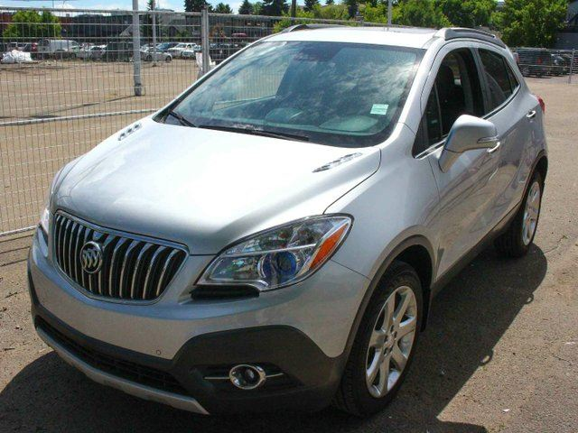 2015 BUICK ENCORE Premium AWD LOADED LOW KM FINANCE AVAILABLE in Edmonton, Alberta