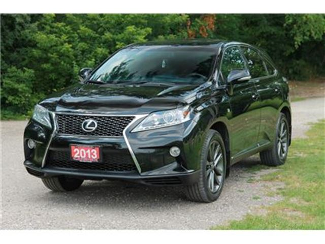 2013 LEXUS RX 350 F Sport Sunroof   AWD   CERTIFIED + E-Tested in Kitchener, Ontario