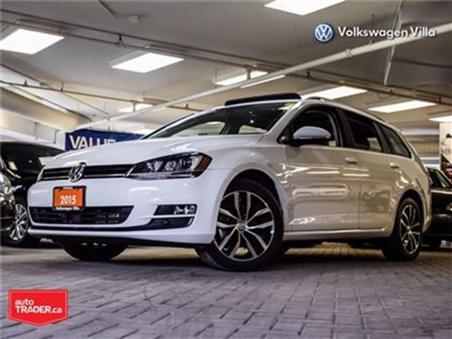 2015 VOLKSWAGEN Golf 2.0 TDI Highline. Leather, Navigation, roof in Thornhill, Ontario