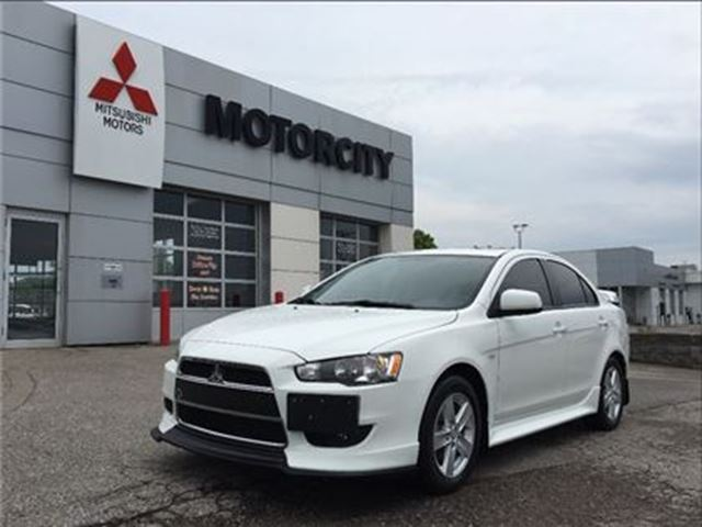 2014 MITSUBISHI LANCER Power Glass sunroof - Rear Spoiler - in Whitby, Ontario