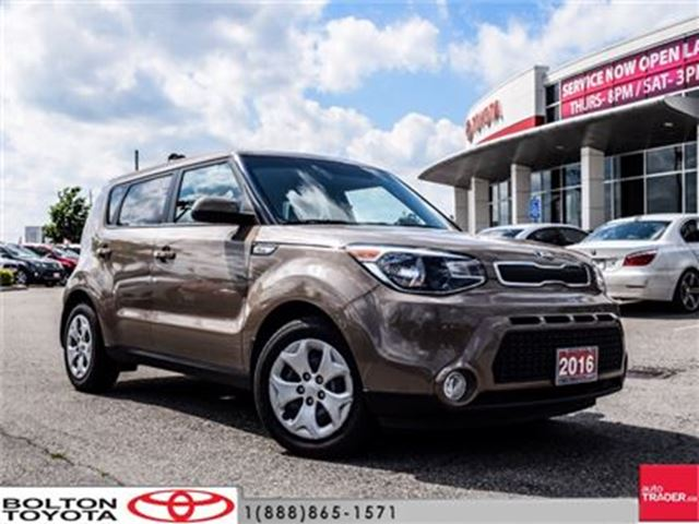 2016 Kia Soul LX At Like New, Warranty 2021, No Accidents In Bolton,