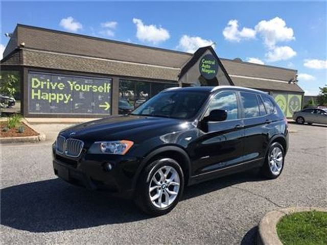 2013 BMW X3 28i/CARPROOF CLEAN/HEATED SEATS/LEATHERETTE in Fonthill, Ontario