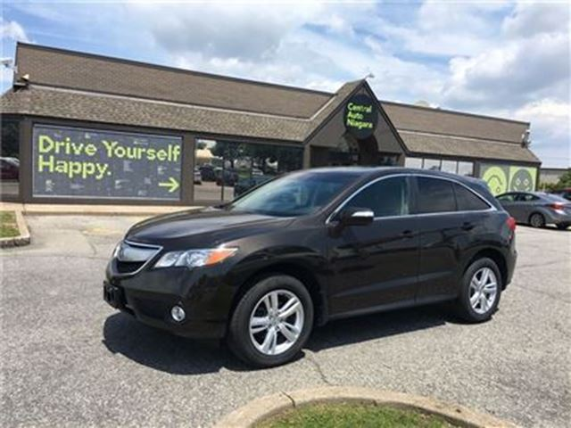 2014 ACURA RDX Tech Pkg/CARPROOF CLEAN/NAV/LEATHER/SUNROOF in Fonthill, Ontario