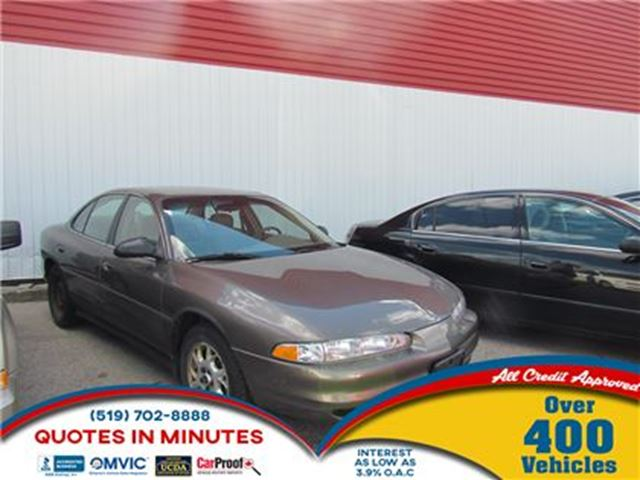 2002 OLDSMOBILE INTRIGUE GX   FRESH TRADE IN   AS-IS SPECIAL in London, Ontario