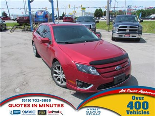 2012 FORD Fusion SE   ROOF   STYLIOSH DESIGN   LOW KM! in London, Ontario