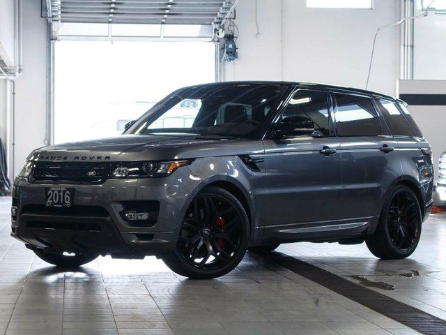 2016 LAND ROVER RANGE ROVER Sport HST LE in Kelowna, British Columbia