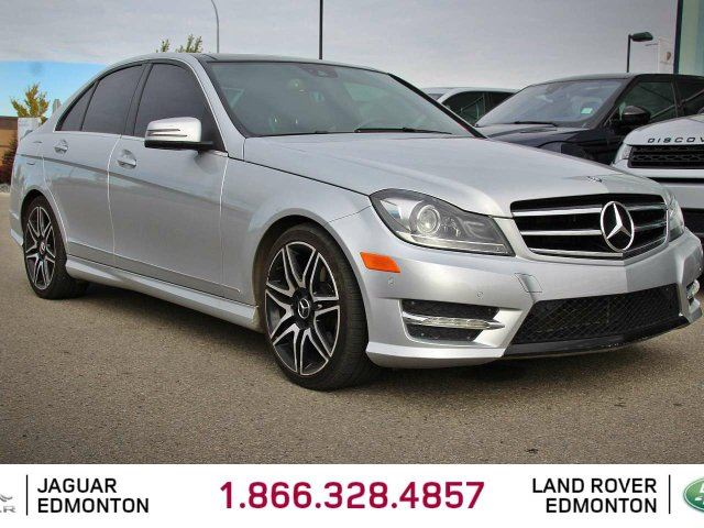 2014 MERCEDES-BENZ C-CLASS C 350 4MATIC - Local Edmonton Trade In | 3M Protection Applied | Heated Front Seats | 3 Zone Climate Control with AC | Panoramic Sunroof | Memory Seats | 18 Inch AMG Wheels | Navigation | Back Up Camera | Parking Sensors | Bluetooth | Great Condition in Edmonton, Alberta