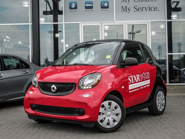 2016 Smart Fortwo pure cpn++ in Ottawa, Ontario
