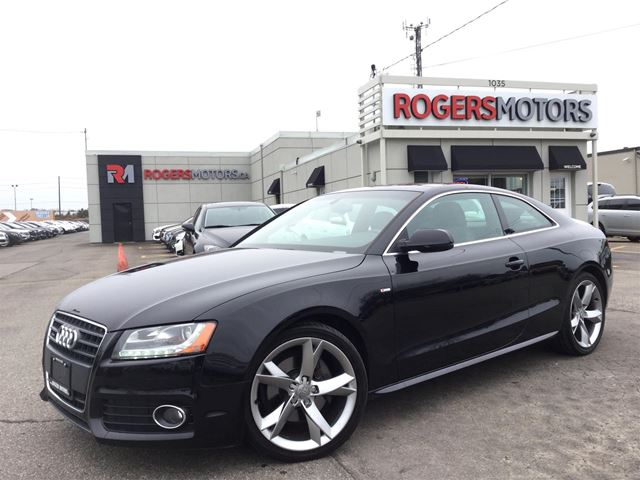 2012 AUDI A5 2.0T QTRO S-LINE - LEATHER in Oakville, Ontario