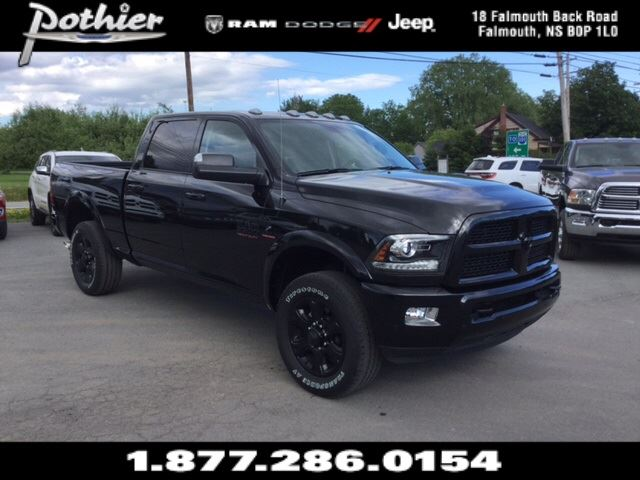2017 Dodge RAM 3500 Laramie  DIESEL  LEATHER  SUNROOF  HEATED SEAT in Windsor, Nova Scotia