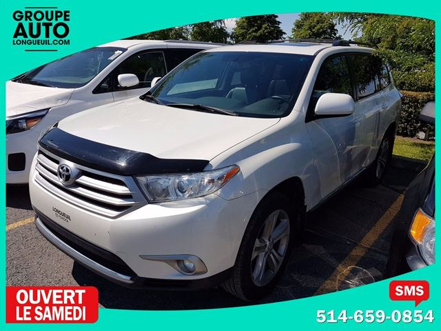 2013 Toyota Highlander SPORT AWD (4x4) 7 PASSAGERS CUIR TOIT in Longueuil, Quebec