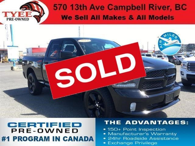 2014 Dodge RAM 1500 ST in Campbell River, British Columbia