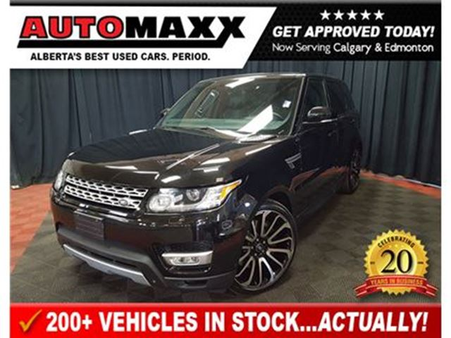 2014 LAND ROVER RANGE ROVER Sport V8 Supercharged! in Calgary, Alberta