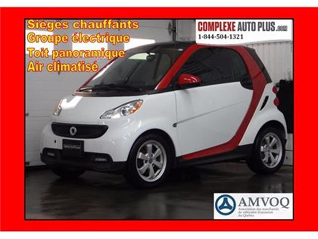 2015 Smart Fortwo Pure *Style package! Superbe look, Toit vitré in Saint-Jerome, Quebec