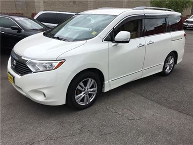 2013 Nissan Quest S, Automatic, Third Row Seating, Back Up Camera, in Burlington, Ontario