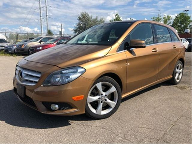 2013 MERCEDES-BENZ B-CLASS HTD LEATHER ALLOYS MERCEDES LEASE RETURN! in St Catharines, Ontario